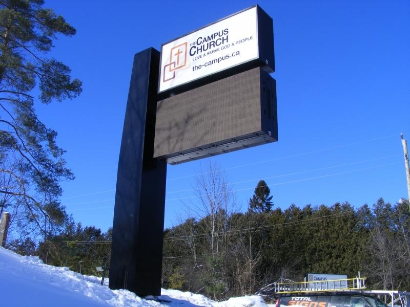 Campus Church Digital Sign
